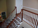 Wood Railing and stairs
